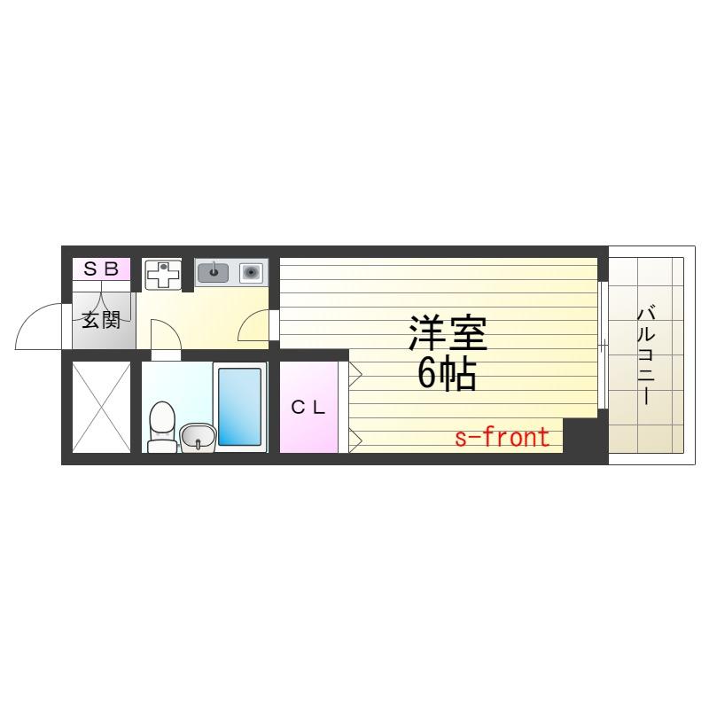 ☆Sステイ新長田駅前☆4階6帖UBタイプ☆オートロック・エレベーター付き☆